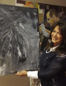 Jobless And Looking Theresa Williams Took Leap Of Faith To Pursue Solaris Art Gallery