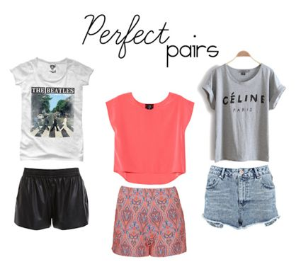 Lex What Wear: Get graphic with tees, go high-waisted with shorts ...