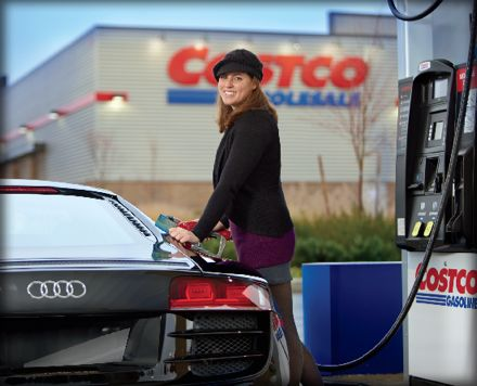 Costco is the nation's favorite place to buy gas, according to the retailer's Facebook page. (Photo from Facebook)