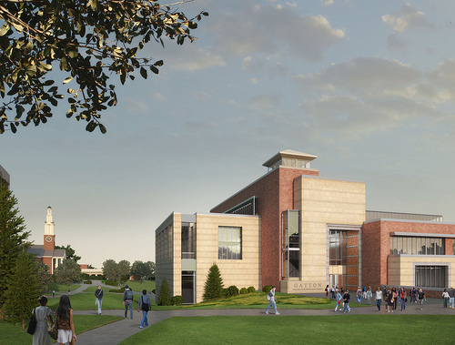 The new entrance will be from the campus rather than Limestone as it is currently. (Photo from UK)