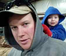 Brian Young and son Christoher (Photo provided)