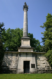 Clay monument