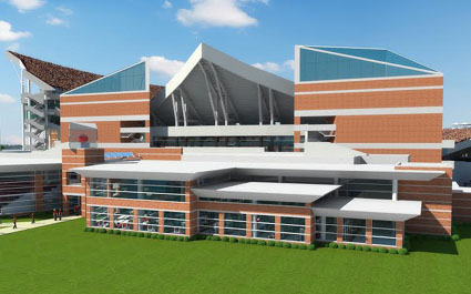 Planned Renovations For Papa Johnu0027s Cardinal Stadium Will Increase Seating  To 65,000 While Enclosing One Endzone