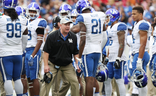 Mark Stoops has proved he can recruit. But now it's reasonable to ask if he can coach (UK Athletics Photo)