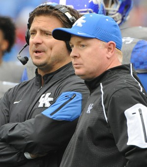 Kentucky coach Mark Stoops will face former offensive coordinator Shannon Dawson, now at Southern Miss, Saturday