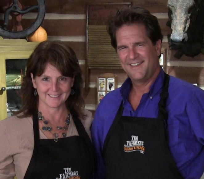 Although he will give up hosting Kentucky Afield on KET soon, Tim Farmer and his wife, Nicki, will continue to appear on his Country Kitchen show (Facebook Photo)