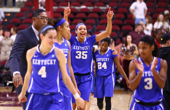 Espnu To Televise Uk Basketball Practice: UK Women's Basketball Team Defeats Texas A&M, Earns No. 5