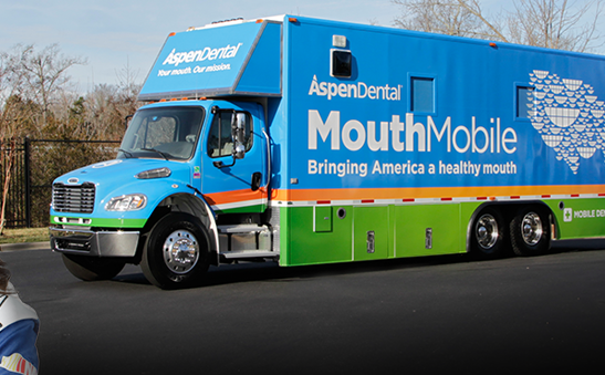 The Aspen Dental MouthMobile , a fully-equipped dental office on wheels, is stopping in Frankfort to provide local veterans with free dental care to address their most urgent dental needs as part of the Healthy Mouth Movement. The event will be held at the State Capitol in Frankfort Friday (Photo Provided)