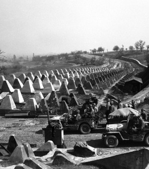 "Kentuckian Kolb landed on Omaha Beach on D-Day and then fought across France to the German border, guarded by what the enemy called the ""Westwall."" The Allies nicknamed it the ""Siegfried Line."" (Photo Provided)"