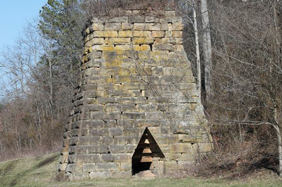 Mt. Savage Iron Furnace (Photo from oldindustry.org)