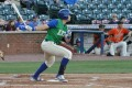 Roman Collins had two doubles and a walk, and scored the Legends' only run in a 2-1 loss to Augusta. (Mary Lay/Lexington Legends)