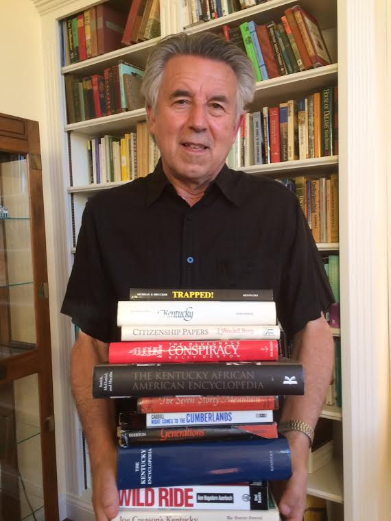 Steve Flairty developed his love of Kentucky-related books at an early age. Here are a few of his favorites for you to discuss (Photo Provided)