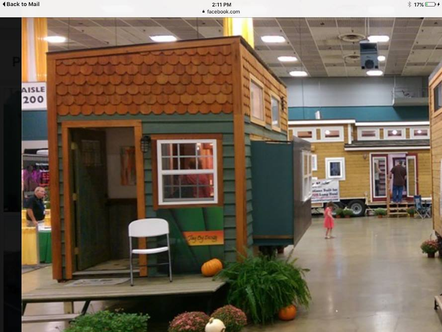 the roadshow is the brain child of tiny house designer and builder dale geist of