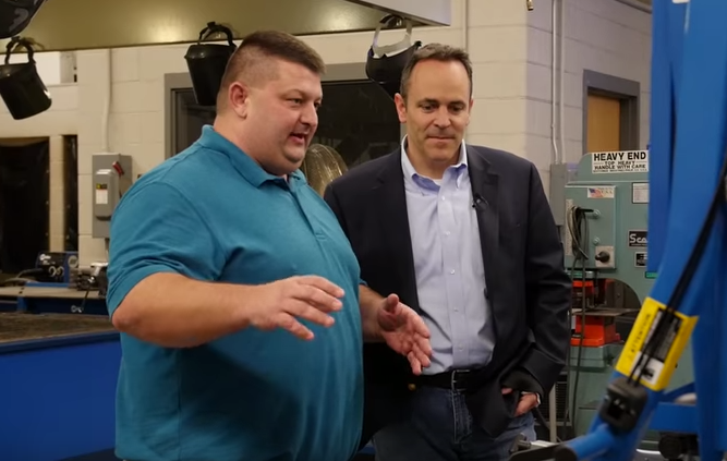 Bevin Ramsey Launch Statewide Apprenticeship Campaign