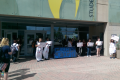 NKU students protest  over the school's sexual abuse policies (Photo Provided)
