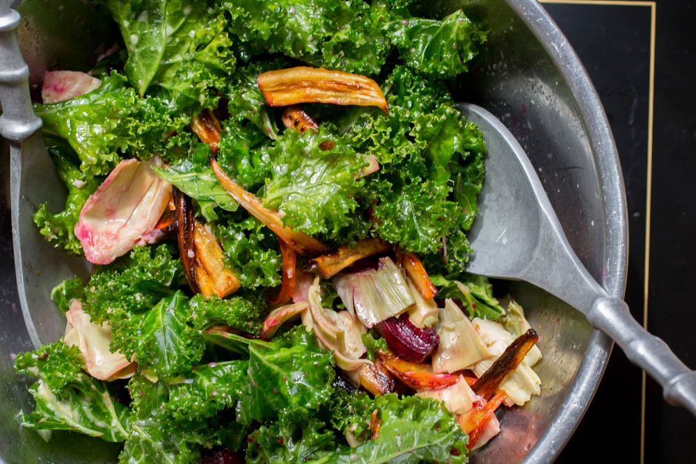 The best kale comes in the late fall after a good frost when the kale turns sweet