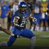 Hard-running Benny Snell has moved to No. 2 on the depth chart at running back and will also return kicks against Alabama Saturday (UK Athletics Photo)