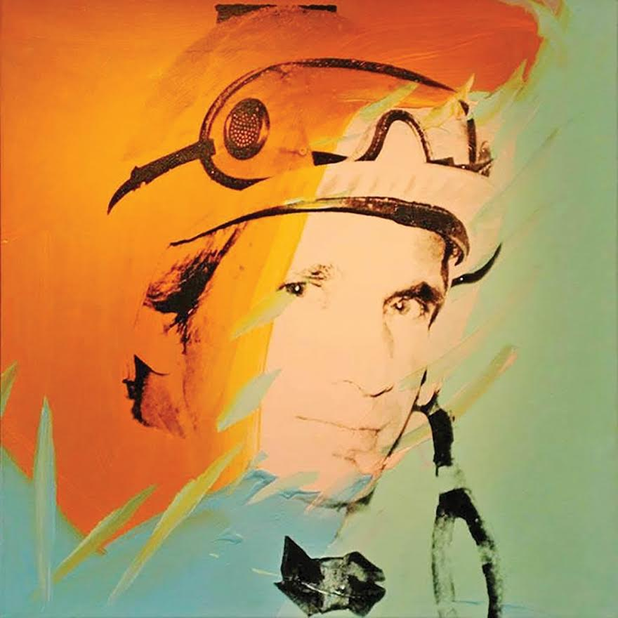 Willie Shoemaker is the first portrait Warhol produced in that series