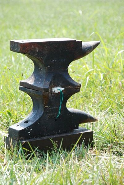 Anvils have little cavities or holes on their bottoms. So anvil blasters would pack black powder into the mated cavities, stick in a fuse, light it and stand back. It was said the ear-ringing, earth-shaking blast could be heard for miles (Photo Provided)