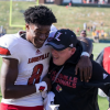 A pair of late season upsets prevented Louisville coach Bobby Petrino and Heisman Trophy candidate Lamar Jackson from a spot in the Orange Bowl. They will play in the Citrus Bowl against LSU instead (UofL Athletics Photo)
