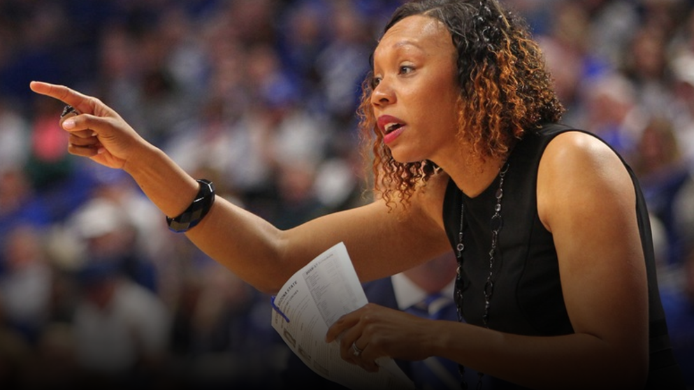 Elzy and Dexter's leadership of the effort includes their personal donation of $100 for each UK women's basketball regular season SEC basketball victory. For the 2017 season the Challenge has been expanded to include all SEC schools and Elzy is calling on fans of all SEC women's basketball teams to join the initiative by making their own personal pledge for their respective team's SEC regular season wins (UK Athletics Photo)
