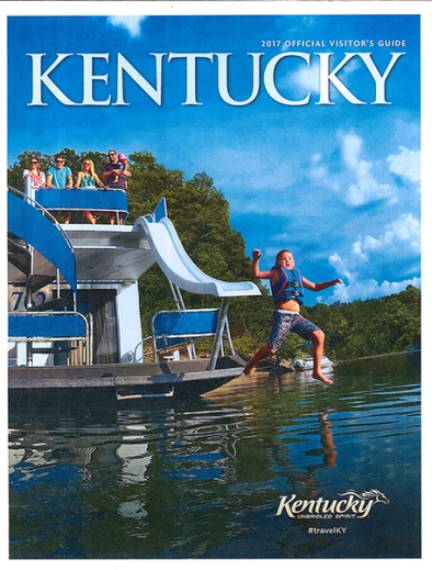 Kentucky Visitor S Guide For 2017 Features State Map With