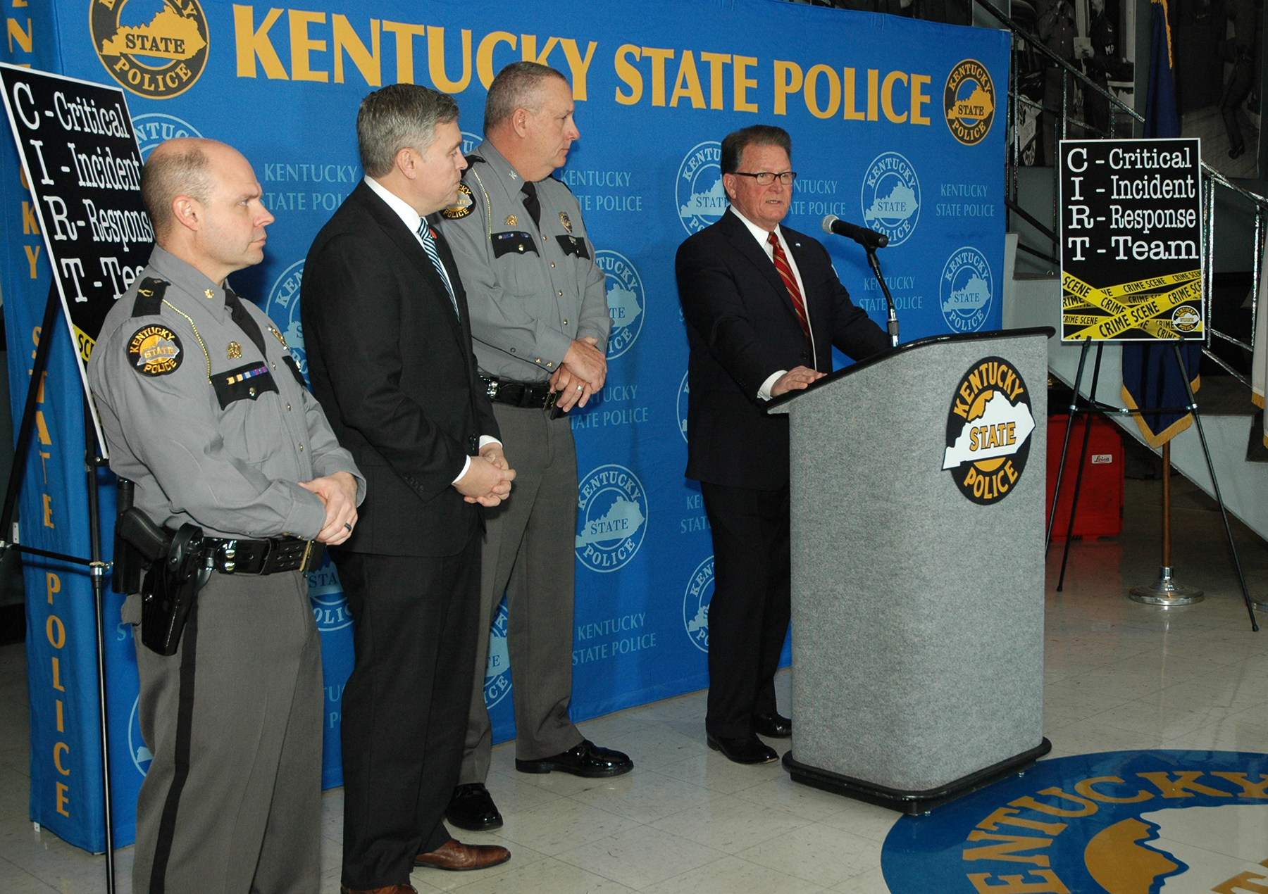Kentucky State Police form Critical Incident Response Team ...