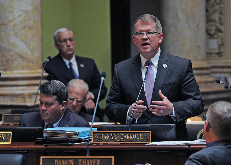 Sen. Danny Carroll R-Paducah comments on SB 120 a bill relating to crimes and punishments in the Senate