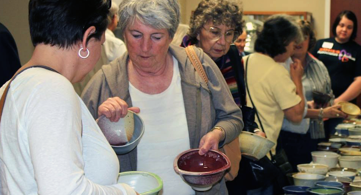 Empty bowl project to fight hunger to be held in richmond for Food pantry richmond ky