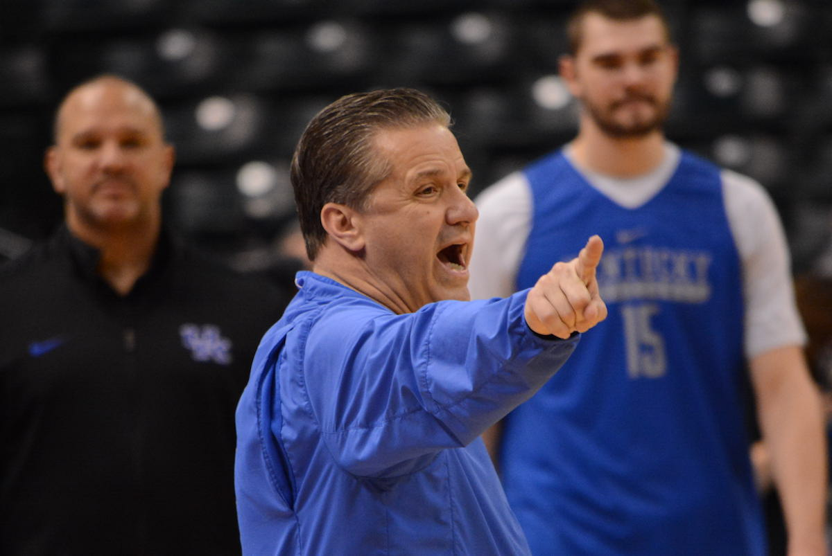Kentucky Basketball Isn T Going Undefeated Or Winning The: UK's Calipari Updates His Personal Bucket List, Going 40-0