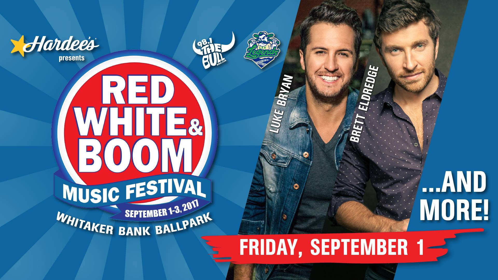 Final lineup for Red White and Boom 2017 includes Luke ... - photo#13