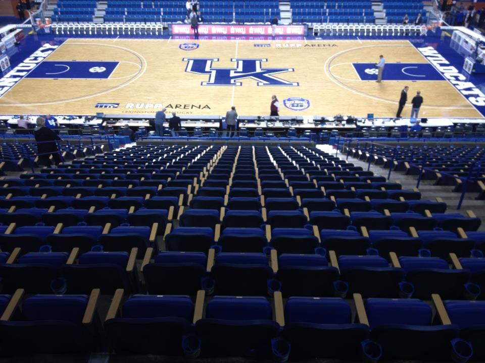 Rupp Arena Downsizing Adding More Chair Backs Club