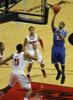 Louisville got its first win over John Calipari's Wildcats last season. (Photo by Jon Hale)