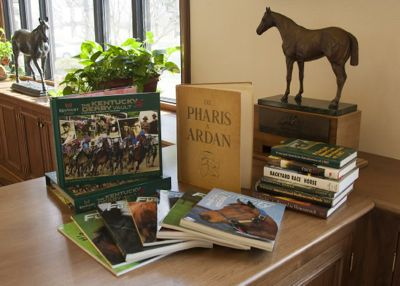 Keeneland Library's special sale will allow the general public to purchase duplicates of historic Thoroughbred magazines, books and journals. (Photo from Keeneland)