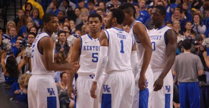 Kentucky's freshmen may come around, but the scenario in which they don't is coming more and more into focus. (Photo by James Pennington)