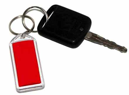 "General Motors' response to the defective ignition switch was to take other keys off the key ring so it wouldn't be heavy and ""accidentally"" turn off the car while driving. (Photo from Wikimedia Commons)"