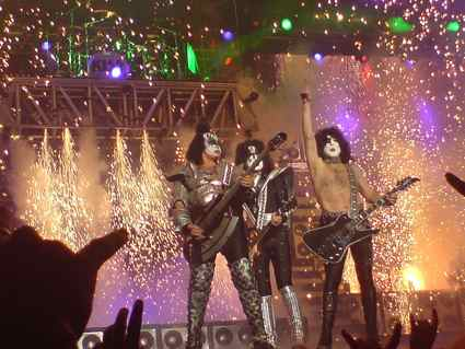 KISS in concert (Photo from Wikimedia Commons)