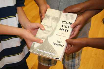 The biography 'William Wells Brown: An American Life' is due out in early October. (Photo by Tammy L. Lane)