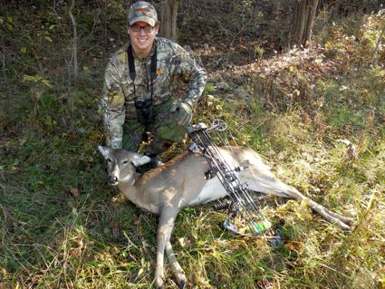 Archery hunting is the most feasible and cost effective way to control deer herds in urban/suburban areas. (Photo by Art Lander Jr.)