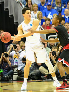 Freshman guard Devin Booker has made just three of 16 three-point attempts in post-season play (Jamie Vaught Photo)