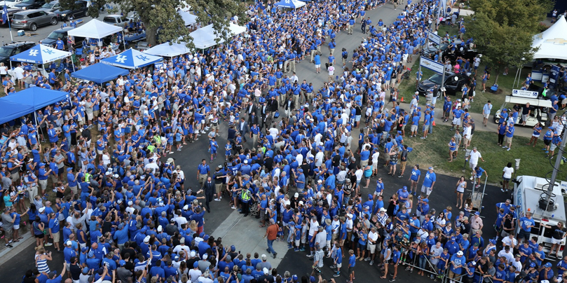 Image result for university of kentucky tailgating