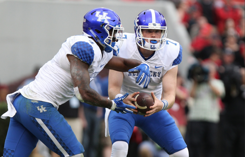 Connor product Drew Barker could see additional playing this this Saturday when the Wildcats take on Vanderbilt (UK Athletics Photo)