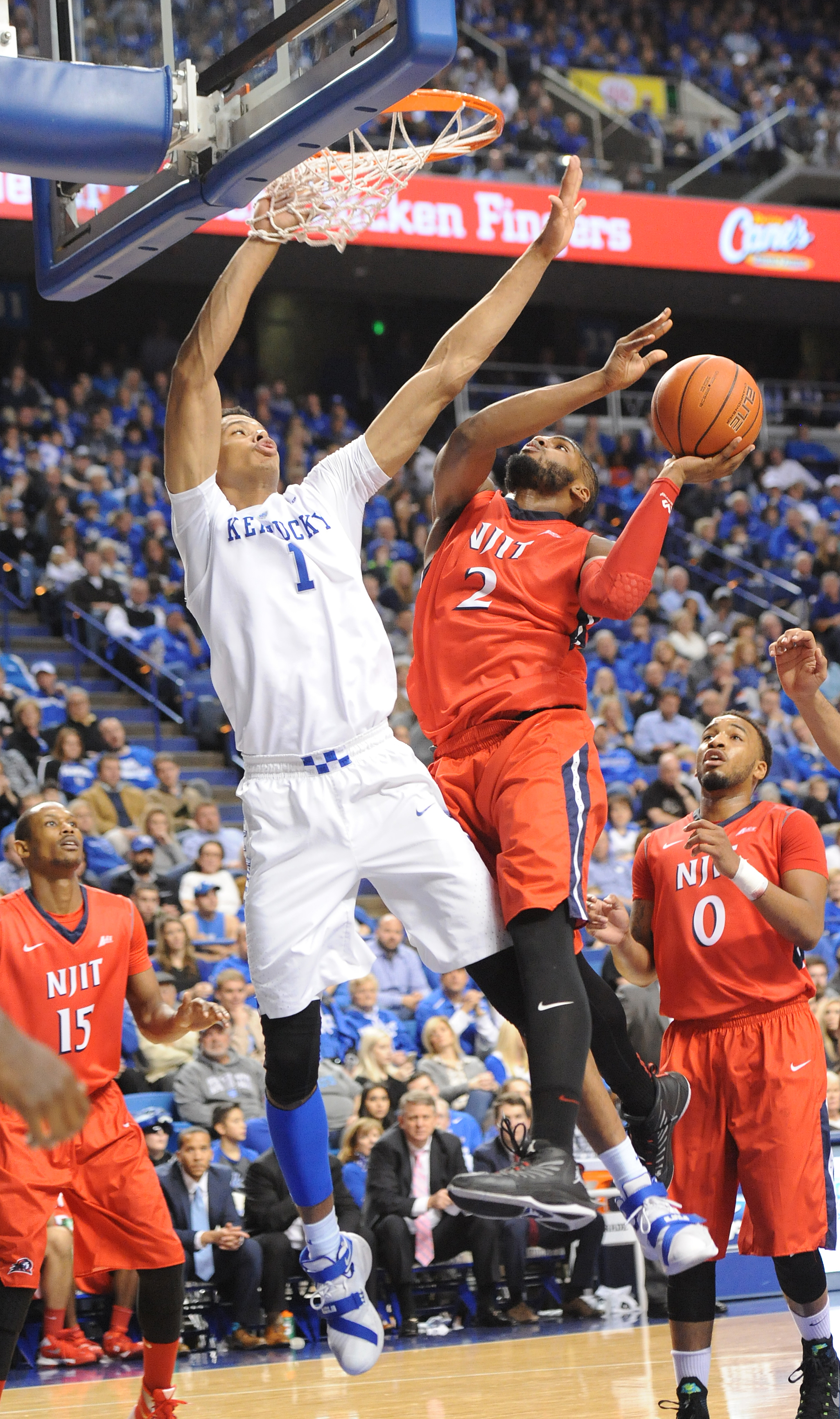 Freshman Skal Labissiere exploded offensively with a 10-for-12 performance from the field and a perfect 6-of-6 day from the charity stripe for a 26-point performance against the NJIT. He scored 18 points before halftime, the second most in a first half in the John Calipari era Bill Thiry Photo)