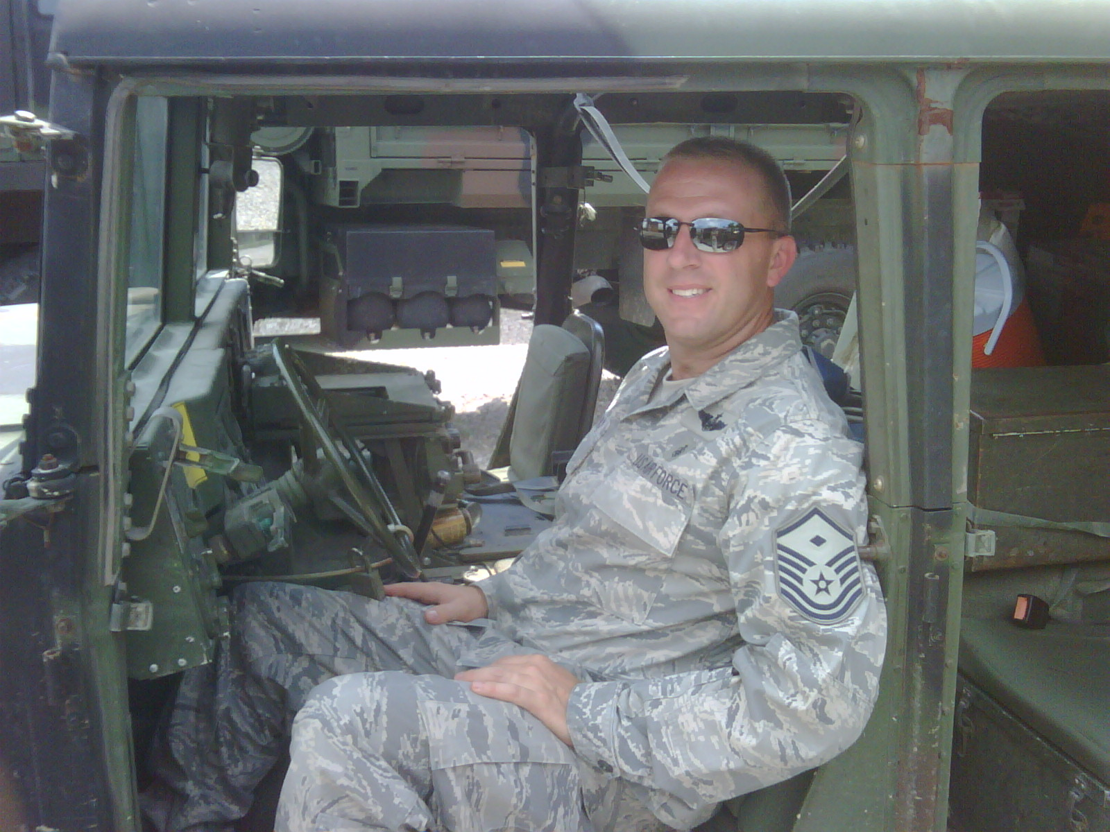 David Gentry's military career spanned 25 years. (UKNow photo)