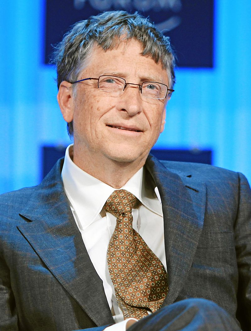 Bill Gates wrote about his visit to a school in Floyd County in a recent blog (Wikimedia Photo)