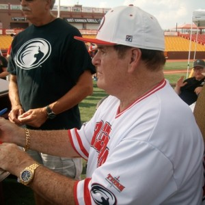 Pete Rose was selected as the sole inductee for the class of 2016 by the Reds Hall of Fame Board of Directors (Mark Hansel Photo)