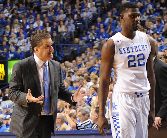 Kentucky coach John Calipari thinks the Wildcats will break through eventually (Bill Thiry Photo)