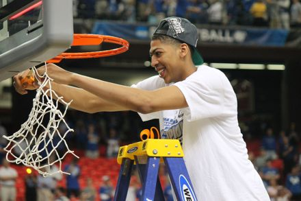 Anthony Davis, who led Kentucky to a national championship in 2012, collected gold medals with USA Basketball as a member of the 2012 Olympic team and the 2014 FIBA World Cup team (John Hale Photo)