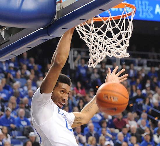 Marcus Lee will take part in the NBA Combine next week (Bill Thiry Photo)
