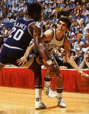 Kyle Macy was the MVP of the 1979 SEC Tournament, played in Birmingham, Ala. (UK Athletics Photo)